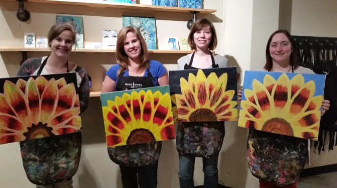 Splash Studios, Milwaukee, MKE, Painting