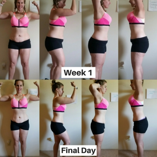 katy hearn summer challenge before and after