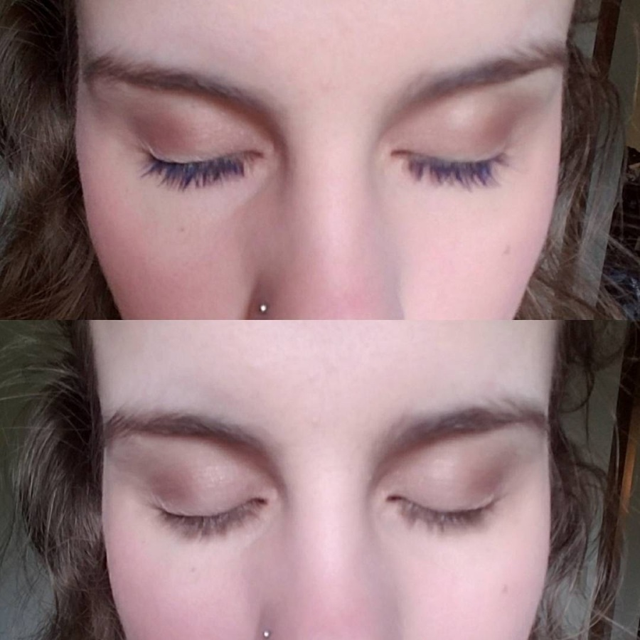 maybelline great lash blue mascara comparison