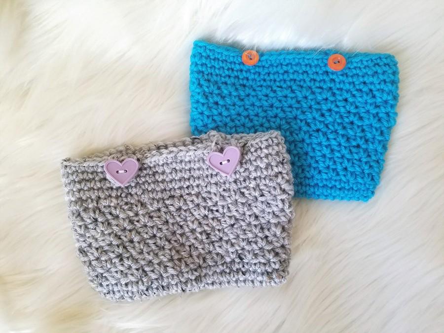 crochet pencil pouches