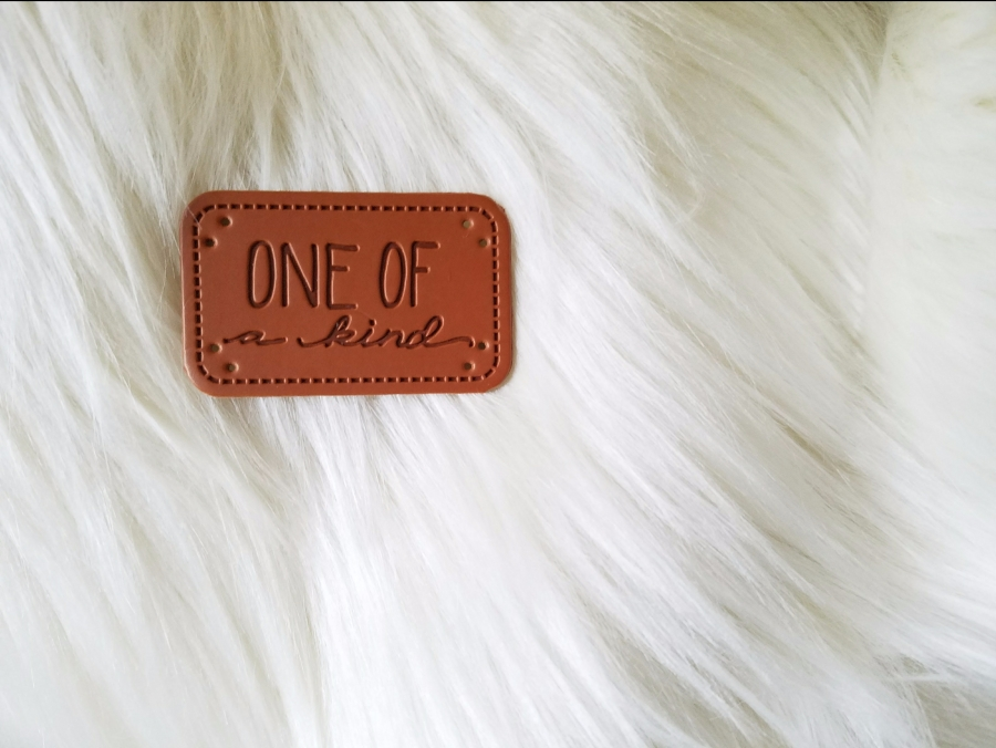 one of a kind craft tag